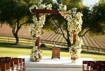 Casamentos | DIA / Board com fotos e ideias para aplicar em casamentos realizados na parte da manhã/tarde.