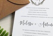 Casamento | CONVITES / Ideias para o seu convite de casamento!