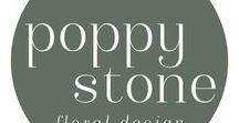 Poppy Stone Designs Brand Inspiration / Launch Your Daydream | Custom Brand Design Inspiration | Color Palette Inspiration | Wedding Florist | Launch Your Daydream | Custom Brand Design Inspiration | Color Palette Inspiration | Wedding Florist
