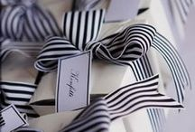 B&W Wedding / Wedding Inspiration with Black & White Decor
