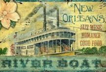 "NOLA / My favorite City!!!!!!! ""The Big Easy""  / by jo jo"