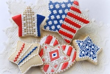 Patriotic Celebration Eats & Drinks / by jo jo