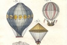 Up Up.. and Away / Pictures, Paintings of Hot air Balloons