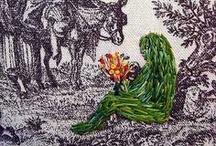 Sculptural Textiles, Embroidery