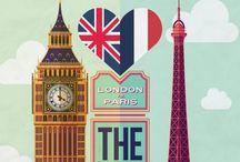 Paris & London / by Julie Bates