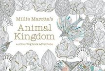 Adult Coloring Books / Coloring isn't just for kids anymore!