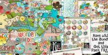 Scrap Happy Digital Scrapbooking Collection by Kathryn Estry