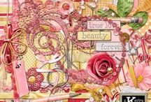 I Love You More Digital Scrapbooking Collection by Kathryn Estry