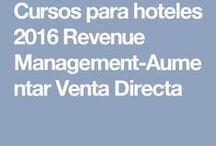 Cursos de Hoteles / Pines de las ciudades en las que impartimos cursos de Revenue Management y de Aumentar la venta directa online.