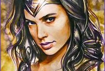 Wonder Woman Art