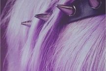 Pastel goth/pastel/kawaii hair styles
