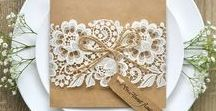 Beautiful wedding invitations!!! / Various wedding invitations