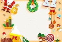 Holiday Vector Gift Tags / Holiday Vector Projects, Holiday Vector Gift Tags, Holiday Vector Winter, Holiday Vector New Years
