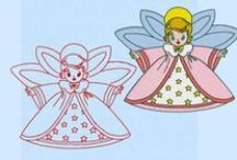 Machine Embroidery / Machine embroidery designs by etsy.com/shop/lynellen plus other people.