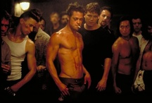 """You DON'T talk about... / 1st RULE: You do not talk about FIGHT CLUB. 2nd RULE: You DO NOT talk about FIGHT CLUB.  3rd RULE: If someone says """"stop"""" or goes limp, taps out the fight is over.  4th RULE: Only two guys to a fight.  5th RULE: One fight at a time.  6th RULE: No shirts, no shoes.  7th RULE: Fights will go on as long as they have to.  8th RULE: If this is your first night at FIGHT CLUB, you HAVE to fight."""