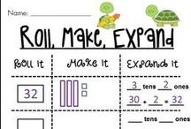 Math - Primary Grades / by Annie Vaccaro
