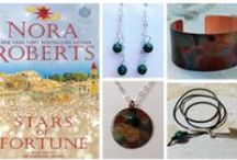 """Inspiring Women Jewelry Collection"" / Available exclusively at Turn the Page Bookstore Cafe in Boonsboro, Maryland    http://www.ttpbooks.com/"