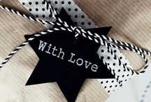 Wrapping / gift tags