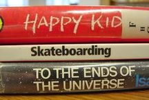 WPL: Book Spine Poetry / Just like magnet poetry, but better! Use book titles to create your own inspired poem.