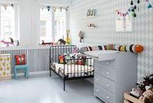Kids room / Inspiration for a new kids bedroom