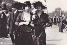 Fashion history 1900's