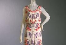 Fashion history 1930's