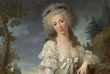 Fashion history 1780–1790 Revolution in Fashion  / by Bibi Eklund