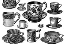Tea Cups and Saucers / by Lise Gillen