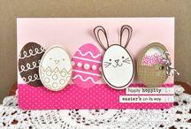 Handmade Cards- Easter & Spring