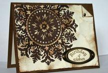 Handmade Cards- SU- Medallion