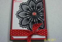 Handmade Cards- SU- Doily
