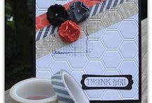 Handmade Cards- Washi Tape / Cards w Washi tape