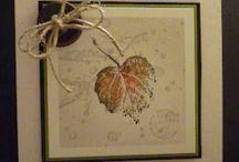 Handmade Cards- Fall & Thanksgiving / Fall & Thanksgiving Cards