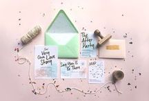 Party Paper / The pretty paper that gets everyone very excited. #invitations #design #stationary