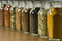 Flavorings Misc. / Various flavorings: spices, oils, sugars, salts, rubs, etc. / by The Purple Kitchen - amy monahan-curtis