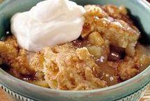 Cobblers and Crisps / Cobbler, crisp and crumble recipes