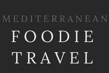 FOODIE TRAVEL / Viva la Mediterranean Diet! The be foodie travel tips, markets, street food, food tours, foods to try, cookery classes, and places to eat in Italy, France, Greece, Spain, Croatia, Portugal, Turkey, Morocco, and the rest of the countries around the Mediterranean.   Seafood, cheese, wine, tomatoes, gelato, tapas, pinxtos, pasta, pizza, souvlaki.  Travel, food and adventures around the Mediterranean. Check out the blog at http://themediterraneantraveller.com/