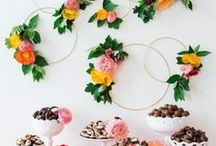dessert tables / #desserttables #dessert #tables #sweets #party #event #wedding