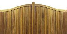 Driveway Gates  - our full range of gate designs / Driveway Gates - some of our most popular gate designs. All driveway gates are handcrafted to any width or height. Choice of materials such as wooden (iroko hardwood, western red cedar or redwood pine), wrought iron or a combination of metal and timber. Full automation can be added along with nationwide installation. See more at www.gatesandfencesuk.co.uk