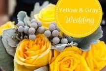 Yellow & Gray Wedding / Inspiration from Fête Nashville: www.fetenashville.com Gray and yellow wedding / by Fête Nashville {Sara Fried}
