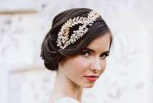 beauté et coiffure mariage / wedding hair and make up / idées coiffure de mariée et beauté/ maquillage pour votre mariage