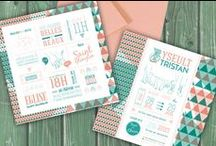 Faire part mariage / wedding stationary