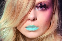 LOOKS / everyday, fantasy and extreme make-overs  Make-up & model: me ( Diana Ionescu) / by Diana Ionescu
