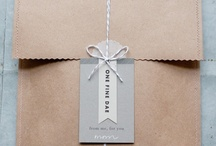Packaging and paper / by Art and Chic