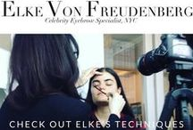 Elke's Brow Tips/Quotes / Celebrity Eyebrow Specialist Elke Von Freudenberg shares her latest brow tips and how to's.