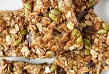 [ Granola Galore ] / Granola for breakfast! Or whenever. Bars, bites or to sprinkle on your favorite pudding or yogurt!
