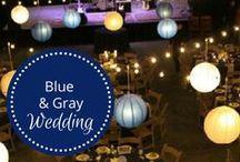 Blue and Gray Wedding designed by Fête Nashville / Blue & Gray Rock n Roll Wedding at Loveless Barn. For more pinspiration, check out award-wining, luxury wedding planning company, www.fetenashville.com. / by Fête Nashville {Sara Fried}