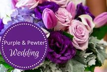 Purple & Pewter Wedding designed by Fête Nashville / www.fetenashville.com Award-winning Wedding Planning: Romantic French-inspired Garden wedding… 10,000+ flowers. MAGICAL. Luxurious couture beaded gown Picture perfect weather. Bouquets with brooches Birdcages, lanterns, rose petals, milk glass pedestals Romantic centerpieces with overflowing mercury glass vases Champagne table numbers and champagne toasts. CHEERS. Doughnut Cake with make-your-own sundae bar. YUM. Suspended garden with hanging vintage bottles over bridal party feasting table  / by Fête Nashville {Sara Fried}