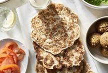 [ Flat Bread & Pitas ] / Flat bread for sandwiches and pita for snacks!