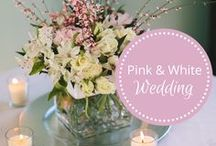 Pink & White New Years Wedding designed by Fête Nashville / Pink & White New Years Wedding designed by Fête Nashville / by Fête Nashville {Sara Fried}
